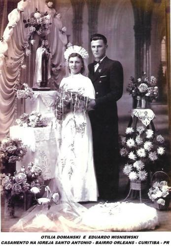 Casamento Igreja Santo Antonio Bairro Orleans Antigamente