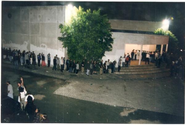 Frente da Danceteria Studio 1250 na Década de 90