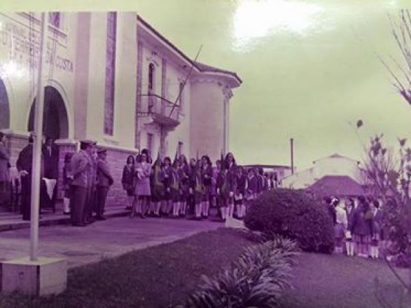 Colégio Estadual Professor Lysímaco Ferreira da Costa em 1970 parte1