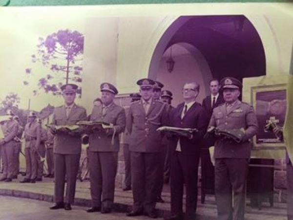 Colégio Estadual Professor Lysímaco Ferreira da Costa em 1970 parte 2