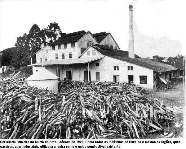 Cervejaria Cruzeiro no Bairro do Batel década de 1920