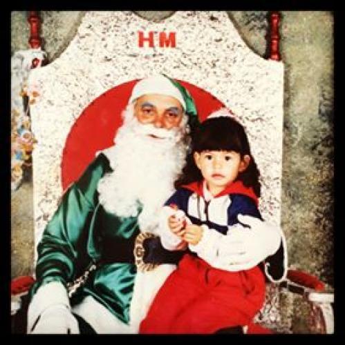 Papai Noel das Lojas HM