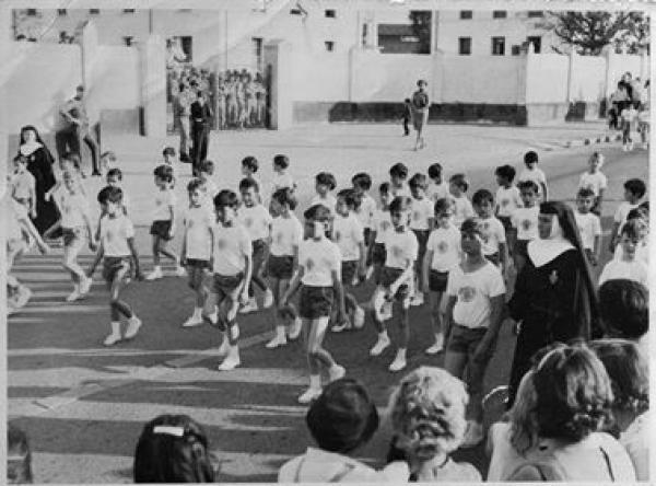 Alunos do Colégio Nossa Senhora Menina década de 60