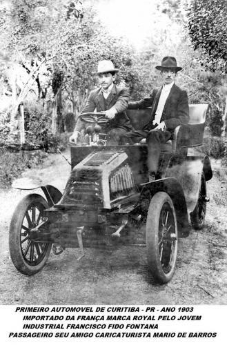 Primeiro Automóvel de Curitiba 1903