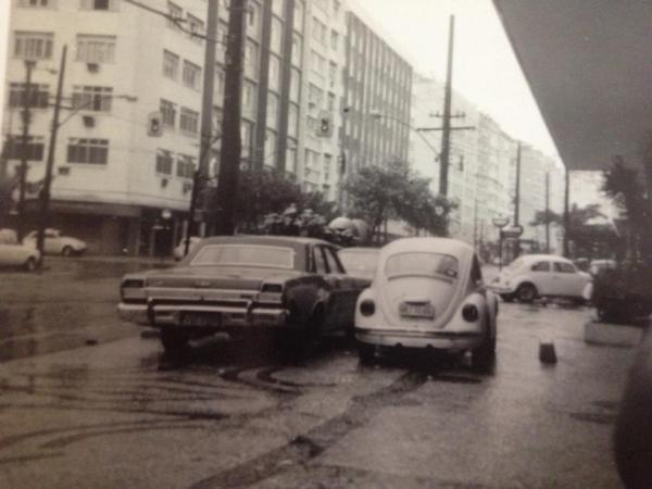 Centro de Curitiba Década de 70