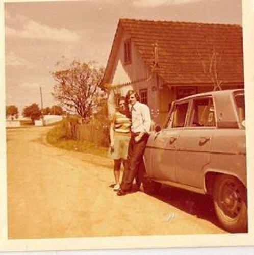 Campo Comprido Rua Jeremias Maciel Pereto em 1973