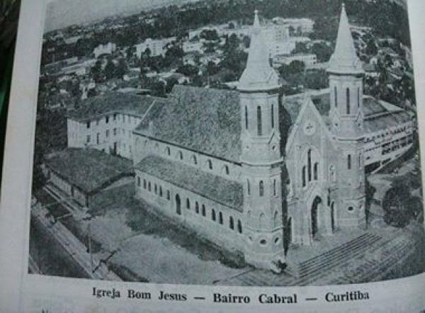 Igreja Bom Jesus 1985 no Cabral