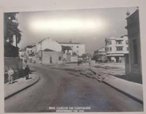 Rua Carlos de Carvalho Curitiba Antiga