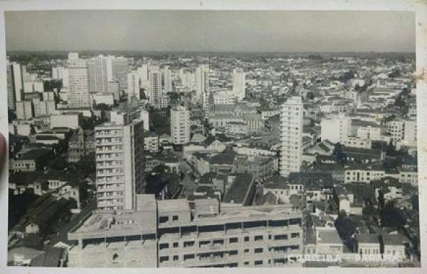 Primeira foto Aérea de Curitiba em 1962